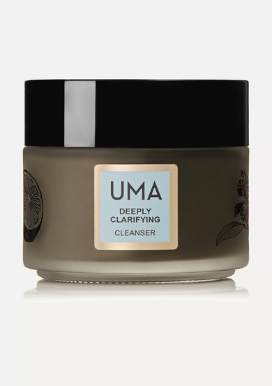 Uma Oils Net Sustain Deeply Clarifying Neem Charcoal Cleanser, 100ml In Brown