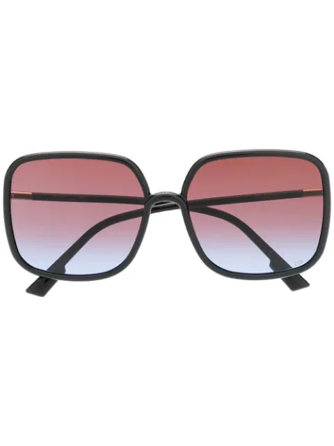 Dior Stellaire 1 Oversized Acetate Sunglasses In 807Yb