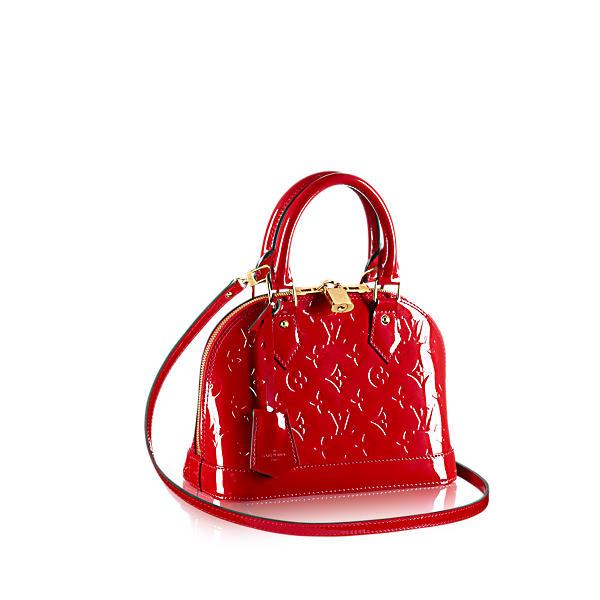 Louis Vuitton Alma Bb In Cherry