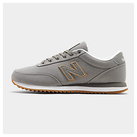 New Balance Men's 501 Canvas Gum Casual Sneakers From Finish Line In Grey