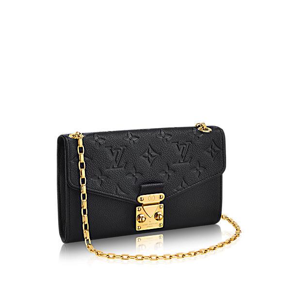 Louis Vuitton Pochette Saint-Germain In Noir