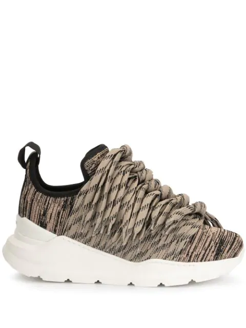 Ports 1961 Lace42 Sneakers In Brown
