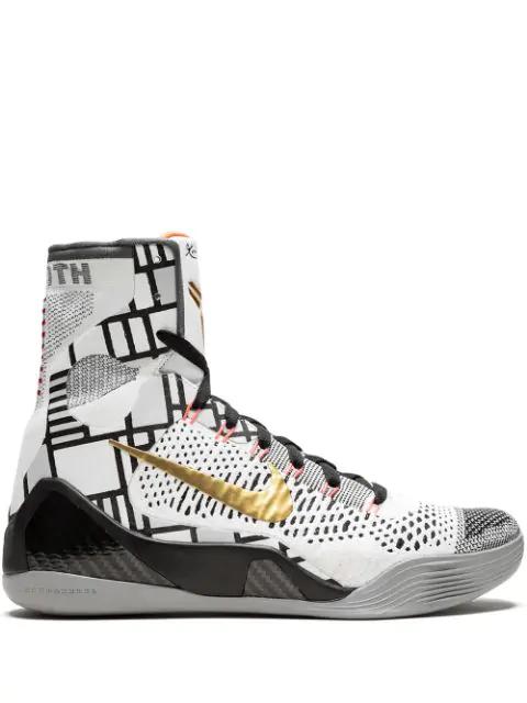 new product cf861 cf14e Kobe 9 Elite Sneakers in White