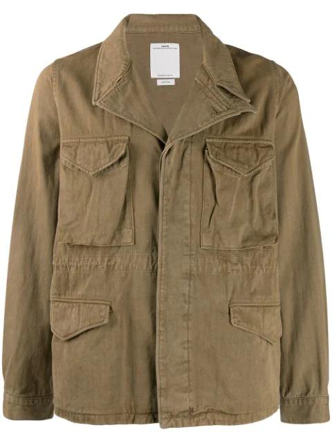 Visvim Denim Jacket In Neutrals