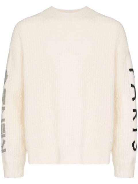 Kenzo Paris Logo Sweater In 03 Neutrals