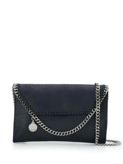 Stella Mccartney Falabella Crossbody Bag In Blue