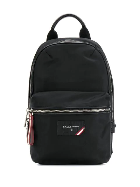 Bally Fuston Backpack In Black