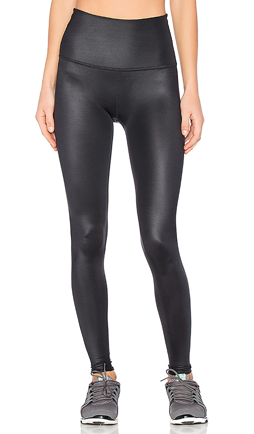 82fec2e1e9e19 Beyond Yoga Pearlized High Waisted Midi Legging In Black | ModeSens