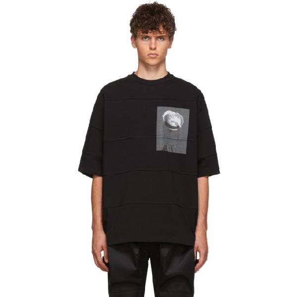 Almostblack Black Rose T-shirt