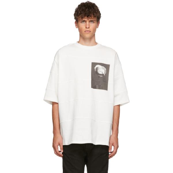 Almostblack White Rose T-shirt