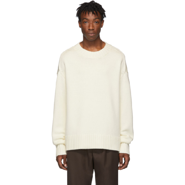 Joseph Off-white Sloppy Joe Sweater