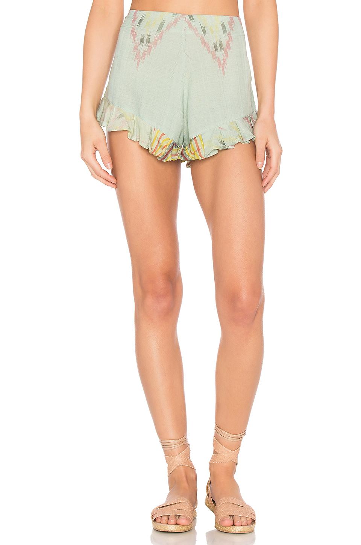 Cleobella Marcelle Shorts In Green