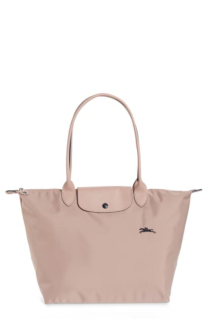 Le Pliage Club Small Top-handle Tote Bag In Hawthorn/silver