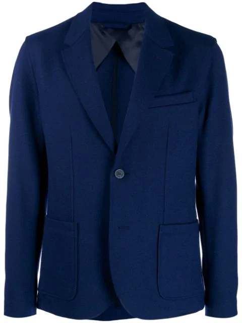 Lanvin Tailored Blazer Jacket In 20 Blue