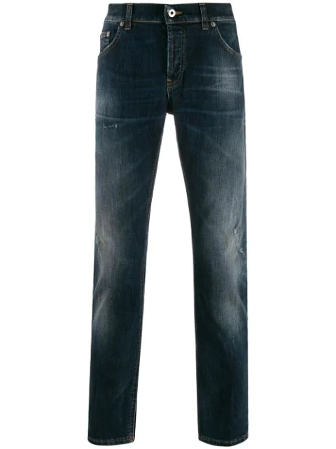 Dondup Slim-fit Jeans In Blue