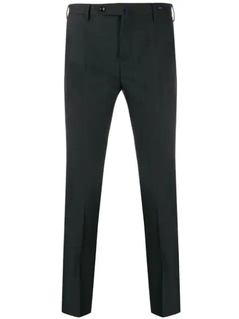 Pt01 Skinny-fit Chinos In Grey