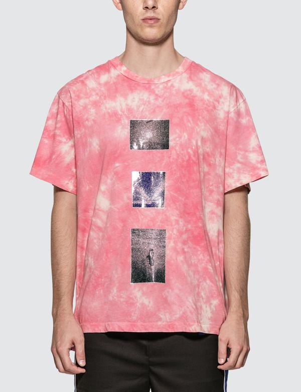 Lost Daze Tie Dye Effect T-shirt In Pink