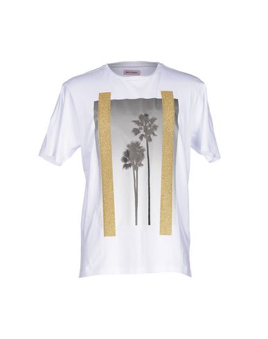Palm Angels T-shirts In White