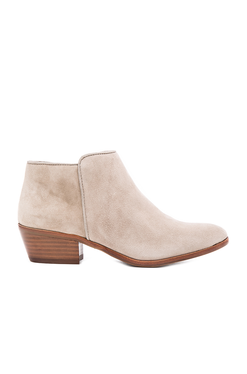 Sam Edelman Petty Suede Ankle Bootie, Putty In Putty Suede