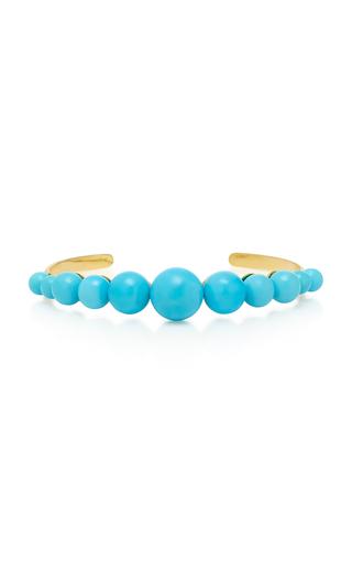 Irene Neuwirth 18k Gold And Turquoise Cuff