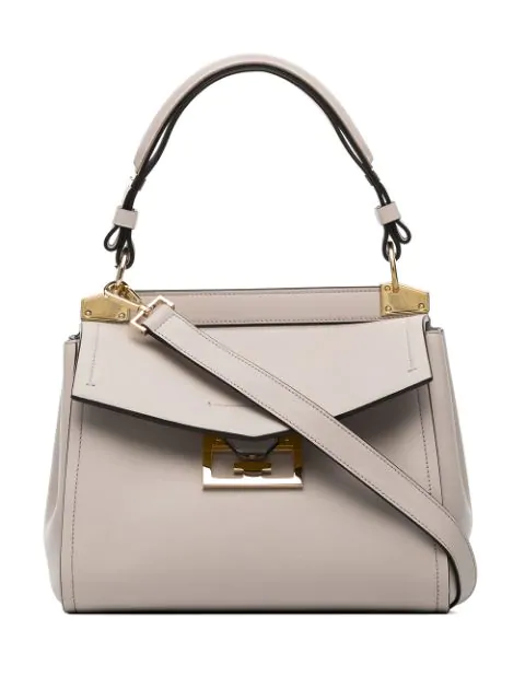 "Givenchy Small ""Mystic"" Bag In Light Pink Leather In 101"