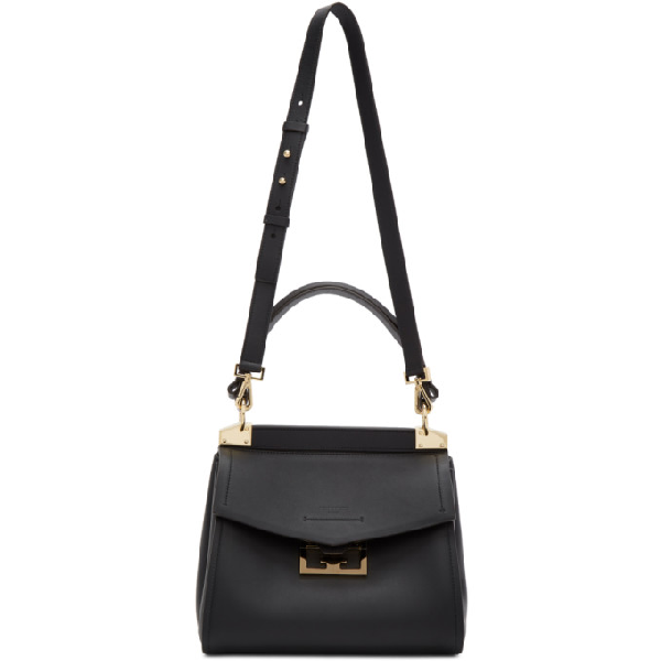 """Givenchy Small """"mystic"""" Bag In Light Pink Leather In 098 Storm"""