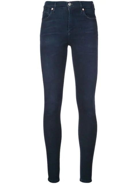 Citizens Of Humanity Slim-fit Denim Trousers In Blue