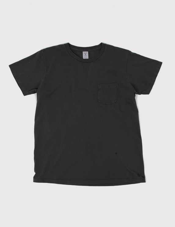 Velva Sheen Pigment Dyed T-shirt - Black
