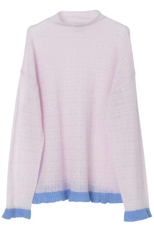 By Malene Birger Emelie Sweater - Pale Rose In Pink