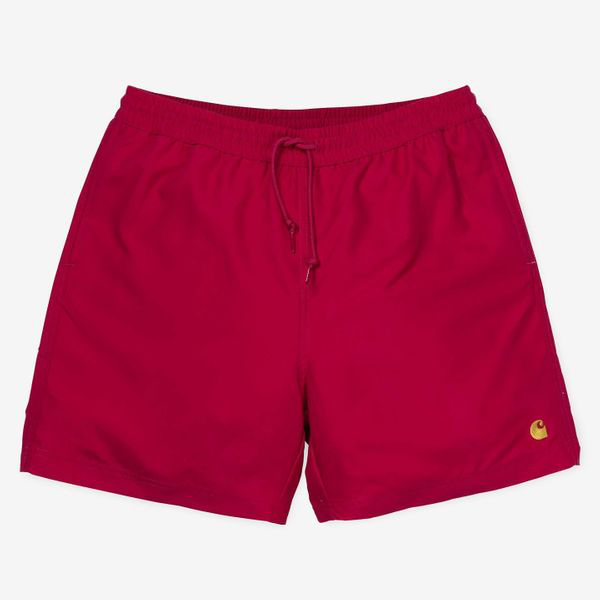 Carhartt Chase Swim Trunk Cardinal In Red