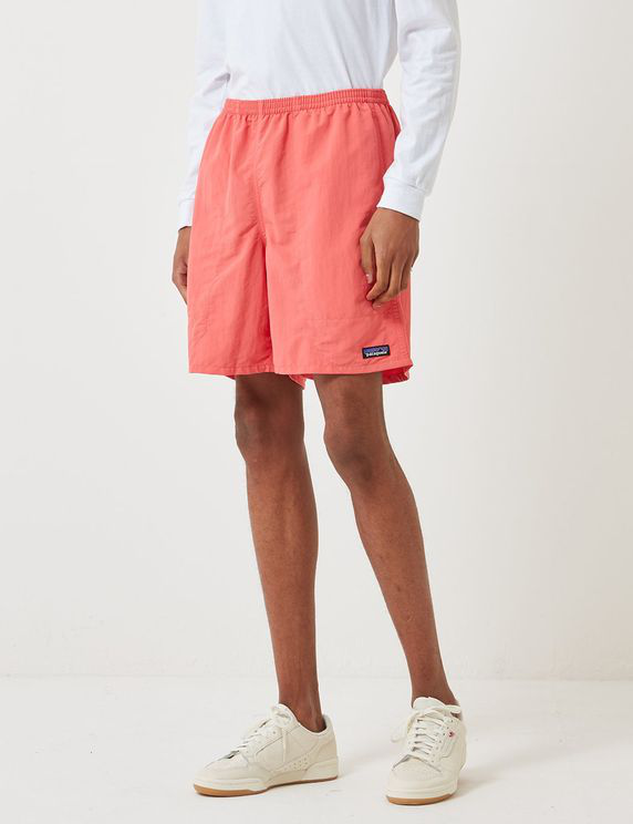 Patagonia Baggies Longs Shorts (7) - Spiced Coral Red In Pink