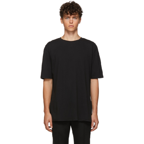 Haider Ackermann Black Awuna T-Shirt In 096 - Black
