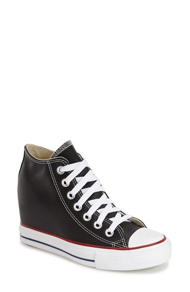 aa12bf7acdce Converse Chuck Taylor® All Star®  Lux  Hidden Wedge High Top Sneaker ...