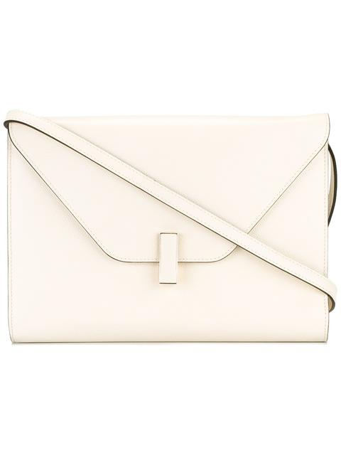 125c043b60 Valextra Square Crossbody Bag In White | ModeSens