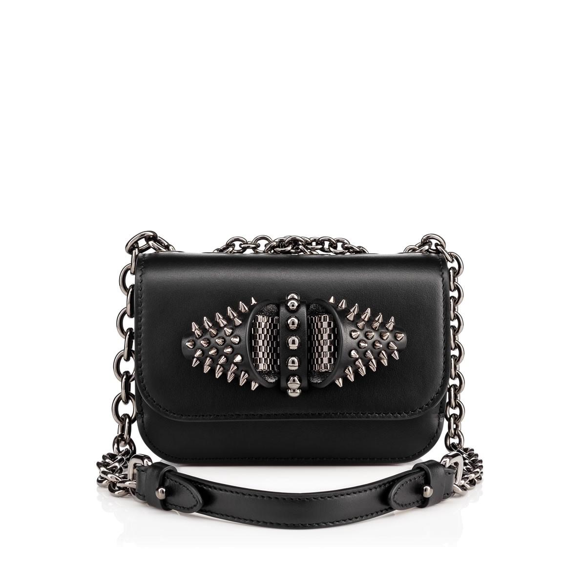 d99ab70293f Christian Louboutin Sweety Charity Mini Chain Bag In Black | ModeSens