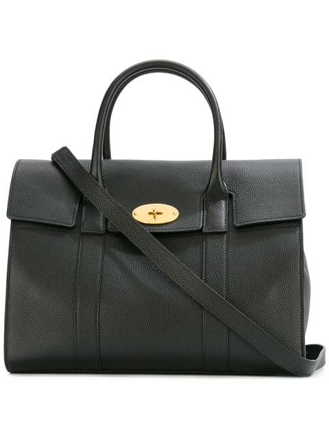Mulberry Bayswater Small Zipped Bag In Black