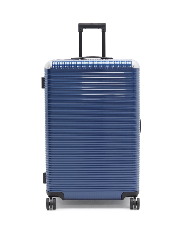 Fabbrica Pelletterie Milano Bank Light 76 Check-in Suitcase In Blue