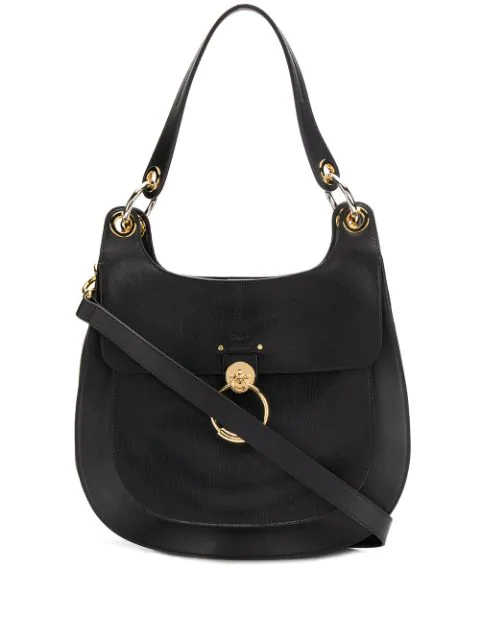 ChloÉ Black Tess Hobo Bag