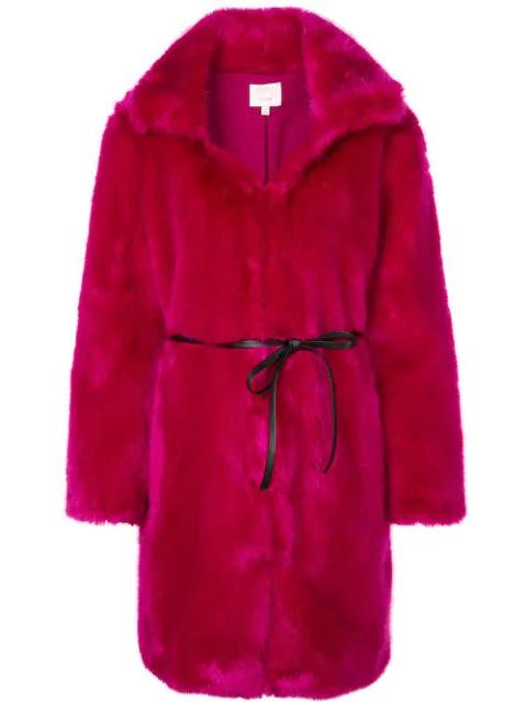 Cinq À Sept Sara Coat In Pink