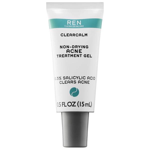 Ren Clean Skincare Clearcalm Non-drying Acne Treatment Gel 0.5 oz/ 15 ml