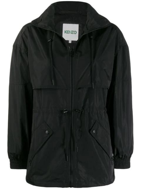 Kenzo Lightweight Jacket In Black