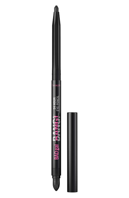 Benefit Cosmetics Benefit Badgal Bang! 24-hour Eye Pencil In Pitch Black