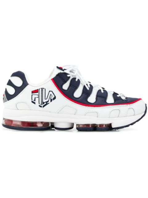 Fila Men's Silva Lace-up Trainer Sneakers In White