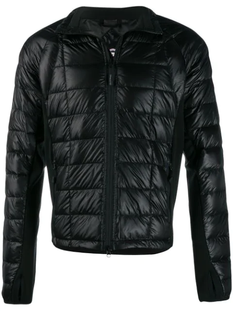 Canada Goose Feather Down Jacket In Black