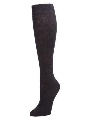 Natori Women's Knee-high Socks In Black