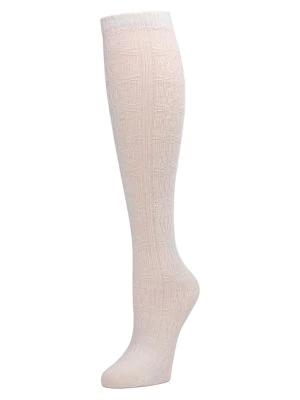 Natori Women's Knee-high Socks In Winter White