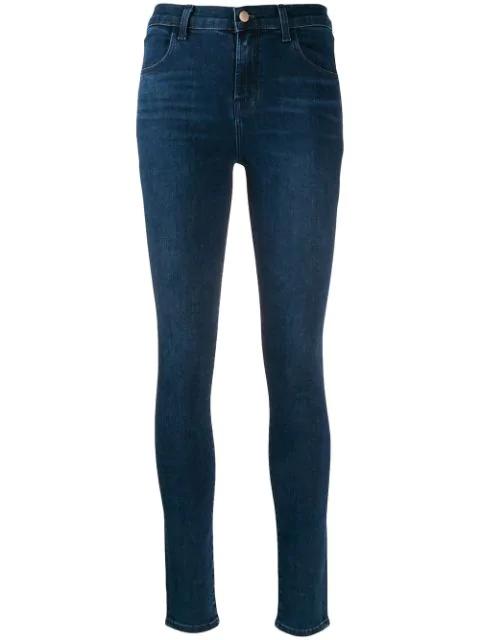J Brand Maria Skinny Jeans In Blue