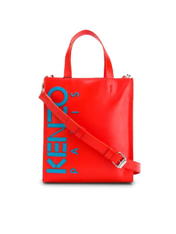 Kenzo Handtasche In Colour-block-optik In Red