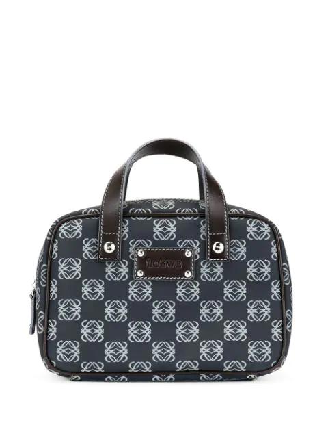 Loewe Anagram Handbag In Black