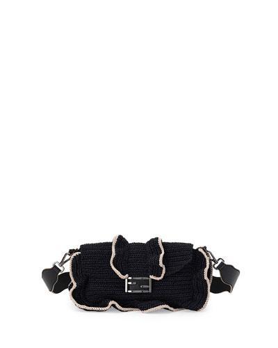 616e03de192b Fendi Baguette Waves Shoulder Bag